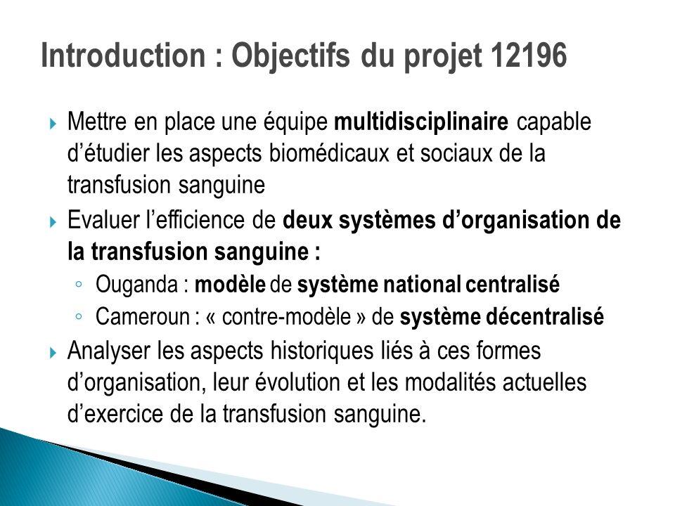 Introduction : Objectifs du projet 12196