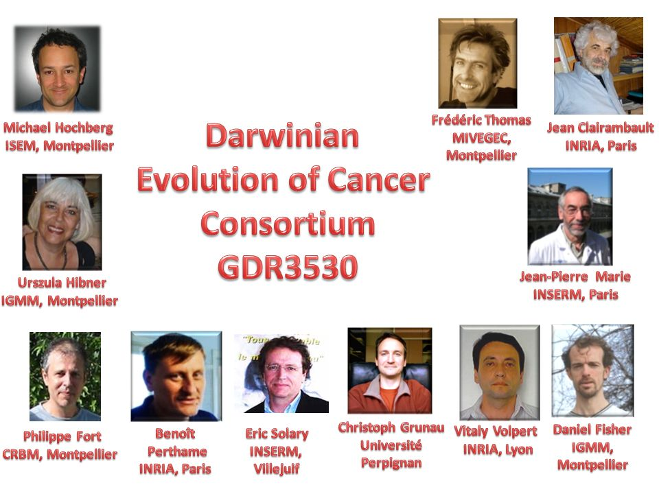 Darwinian Evolution of Cancer Consortium GDR3530