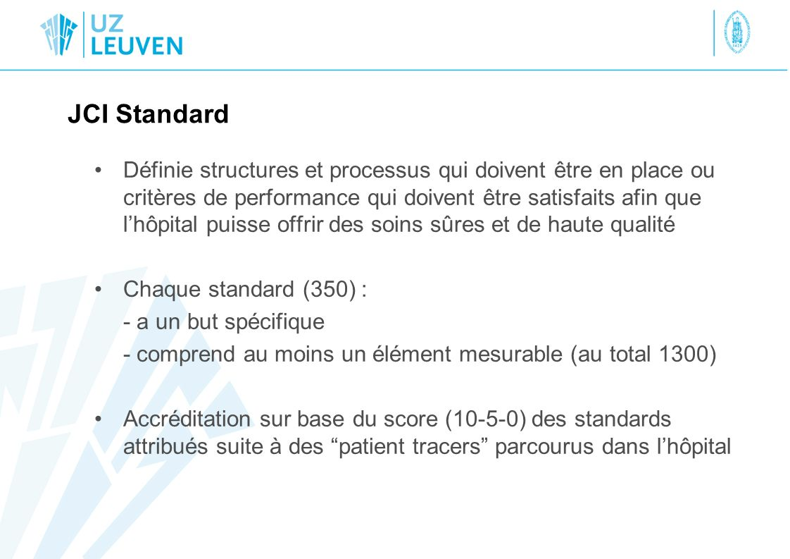JCI Standard