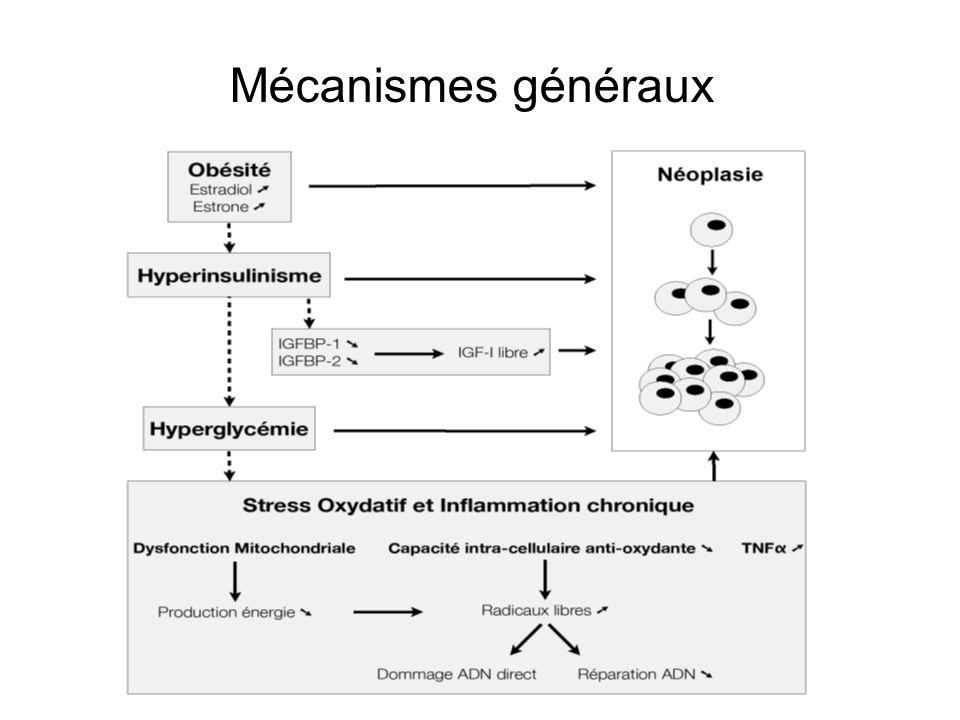 Mécanismes généraux