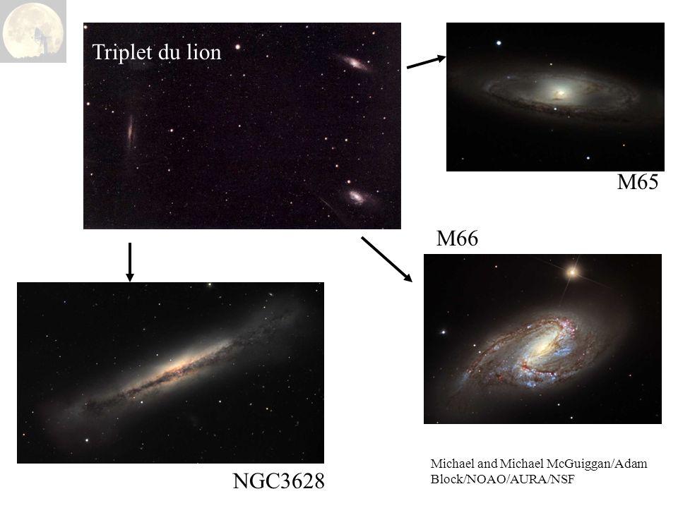 M65 Triplet du lion M66 NGC3628 Michael and Michael McGuiggan/Adam Block/NOAO/AURA/NSF