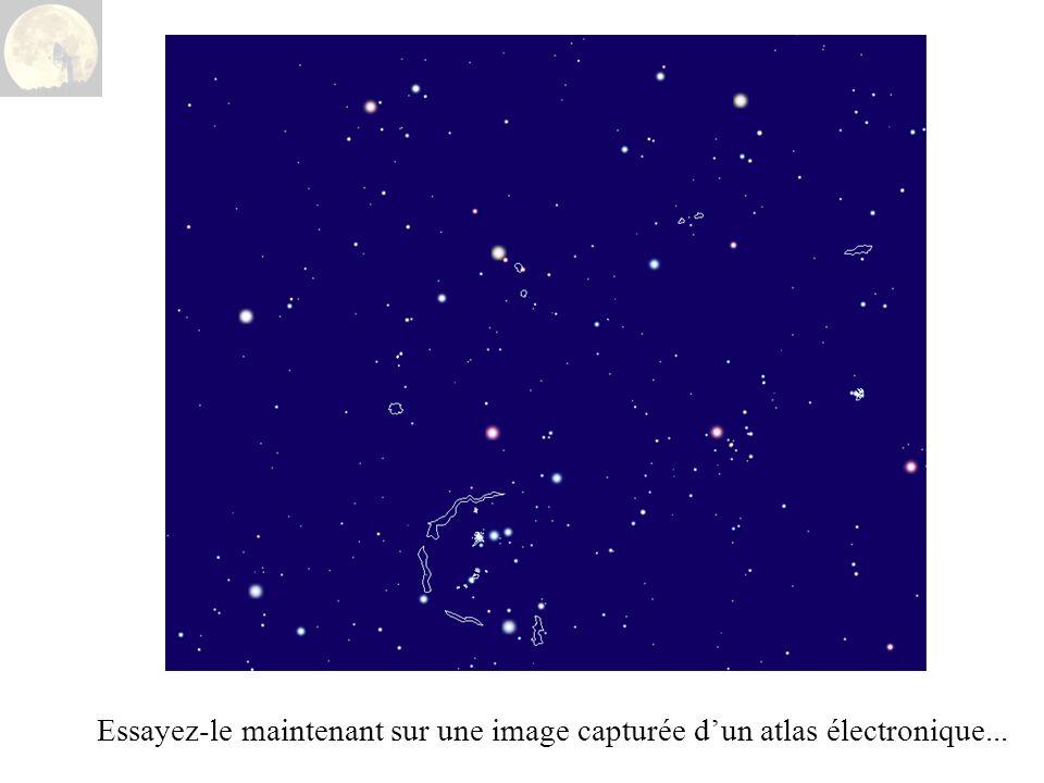 Essayez-le maintenant sur une image capturée d'un atlas électronique...