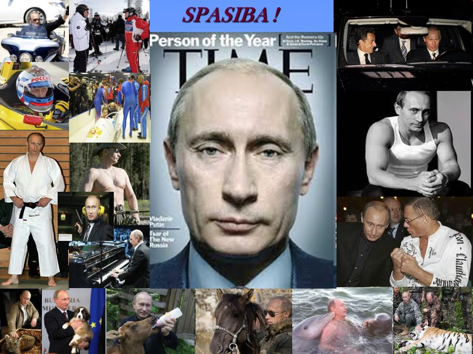 SPASIBA ! 2007 Person of the year for Time