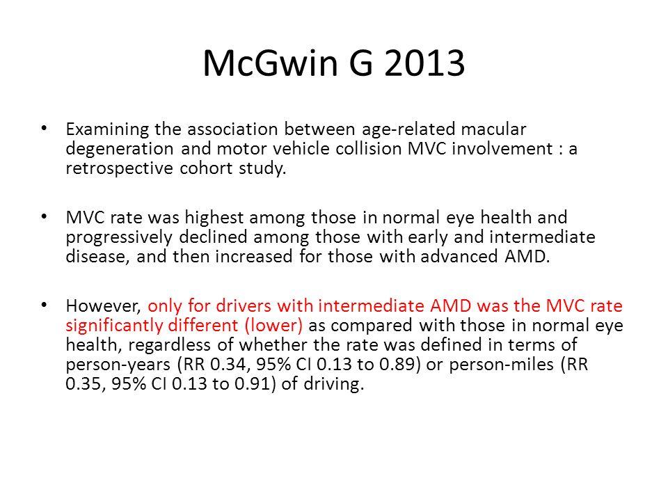 McGwin G 2013