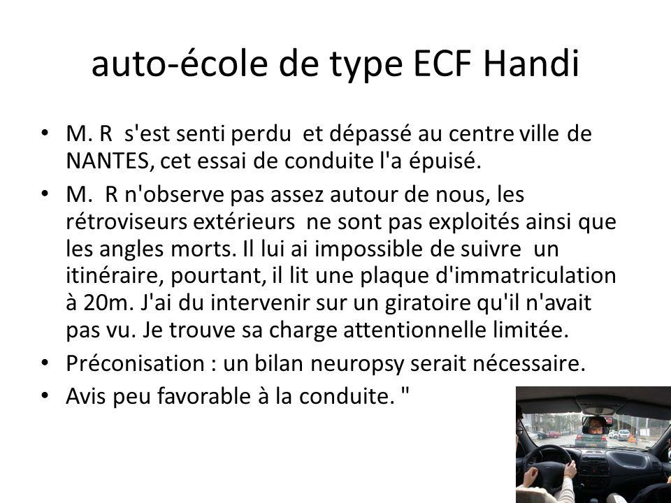 auto-école de type ECF Handi