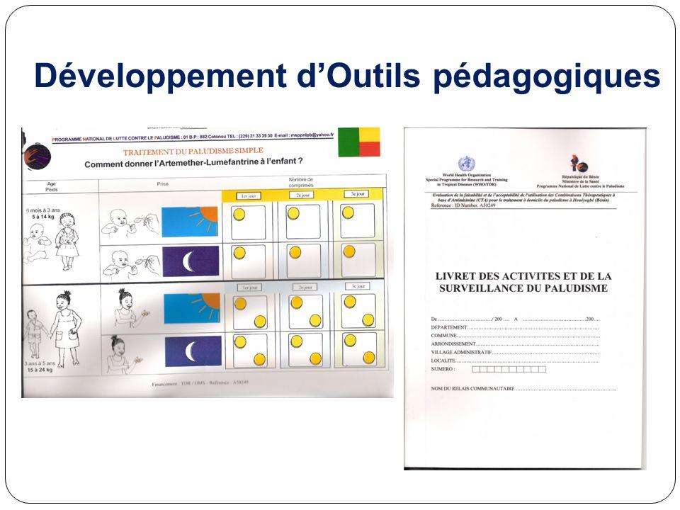 Développement d'Outils pédagogiques
