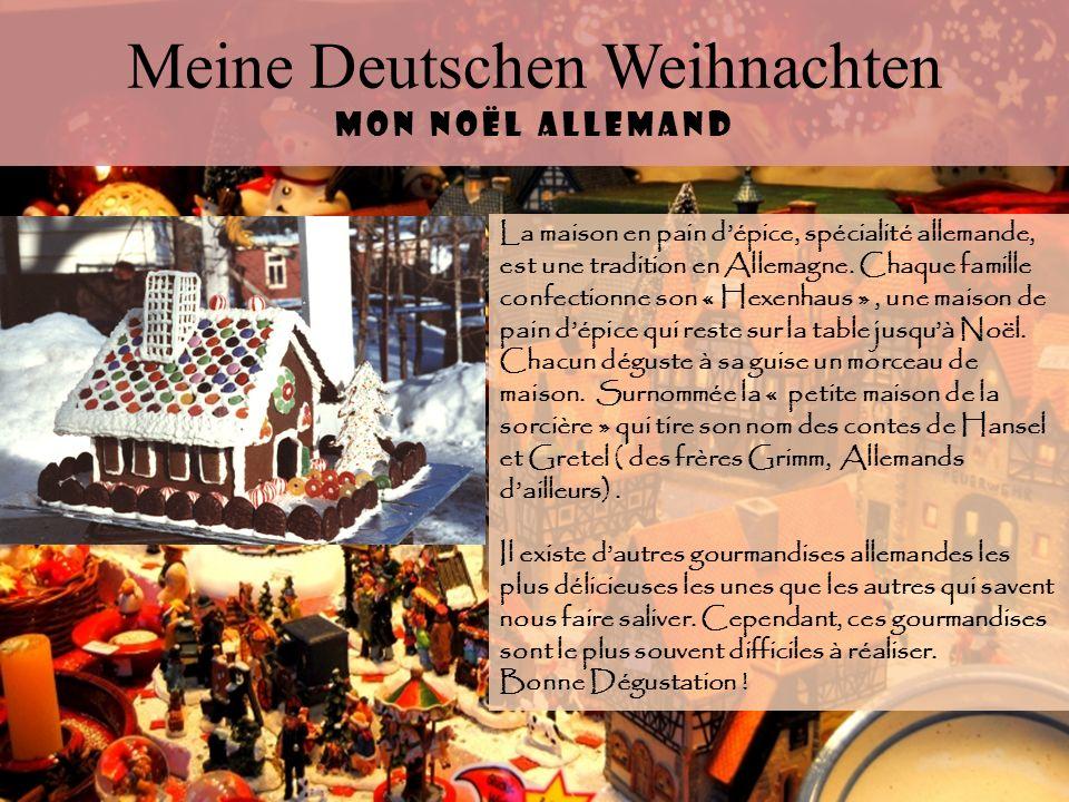 Meine Deutschen Weihnachten Mon Noël allemand