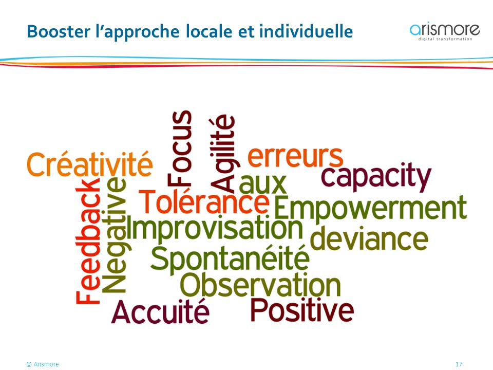 Booster l'approche locale et individuelle