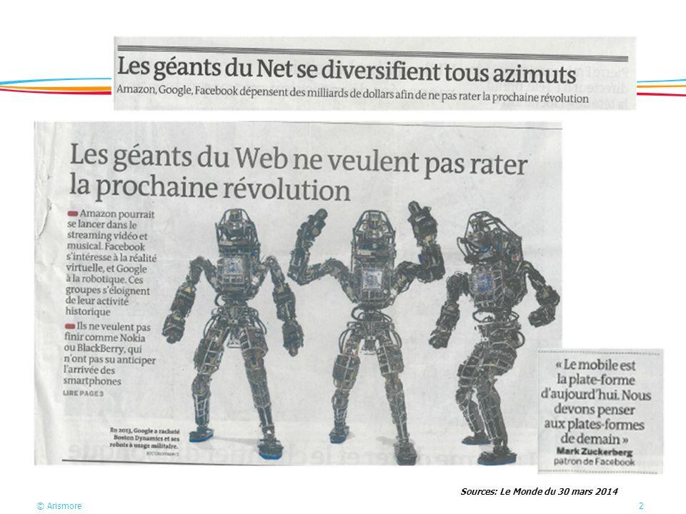 Sources: Le Monde du 30 mars 2014