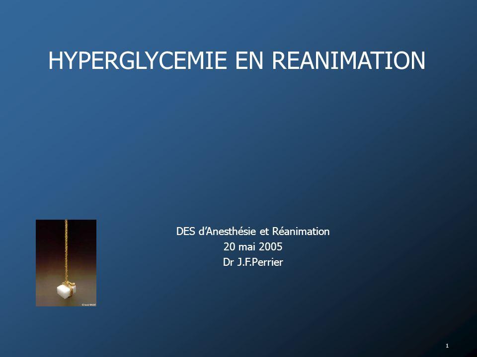 DES d'Anesthésie et Réanimation