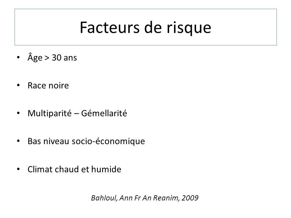 Bahloul, Ann Fr An Reanim, 2009