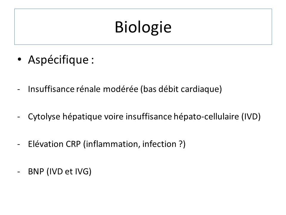Biologie Aspécifique :