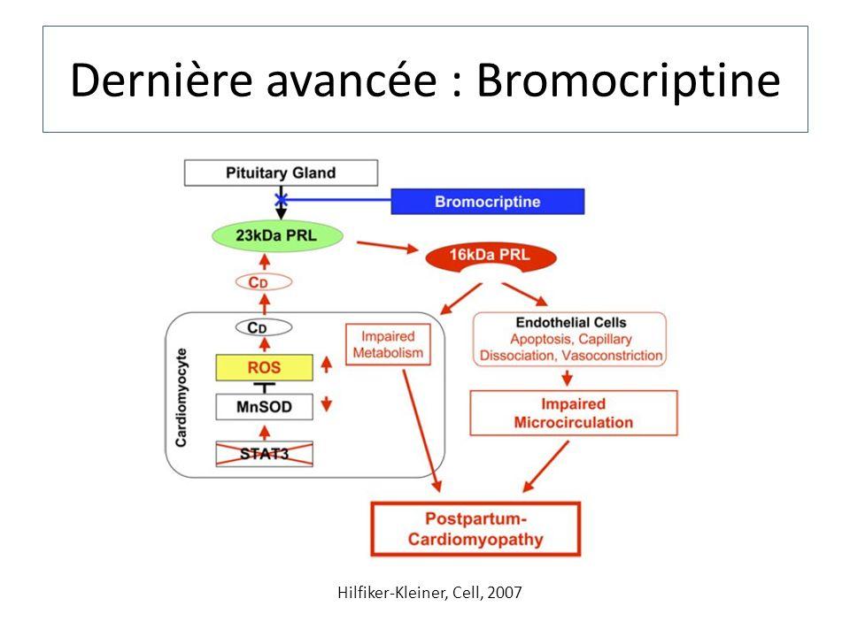 Dernière avancée : Bromocriptine