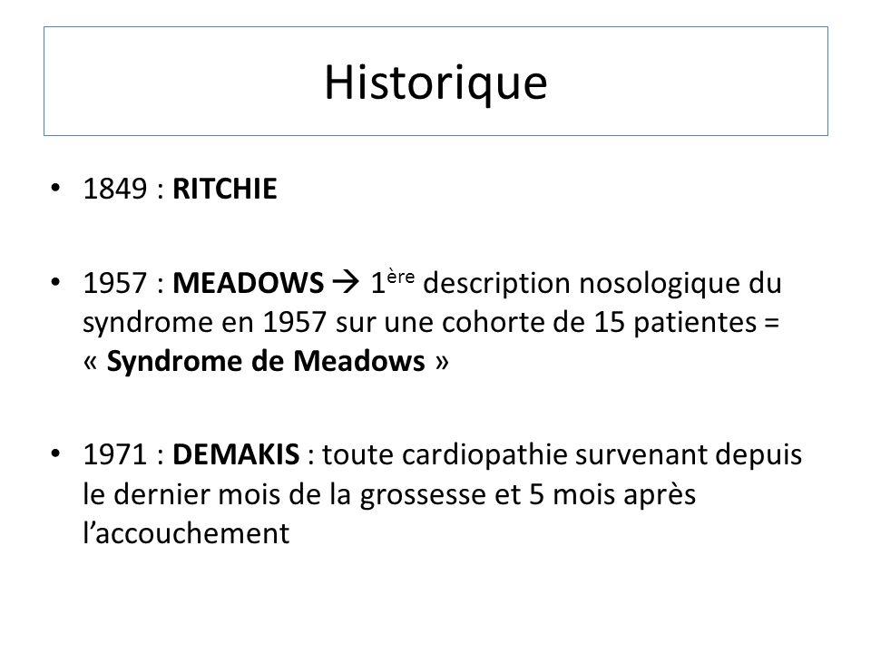 Historique 1849 : RITCHIE.