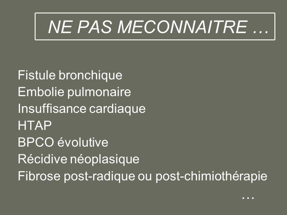 Syndrome médiastinal symptomes