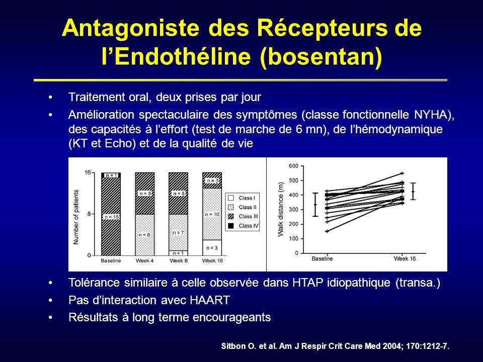Antagoniste des Récepteurs de l'Endothéline (bosentan)
