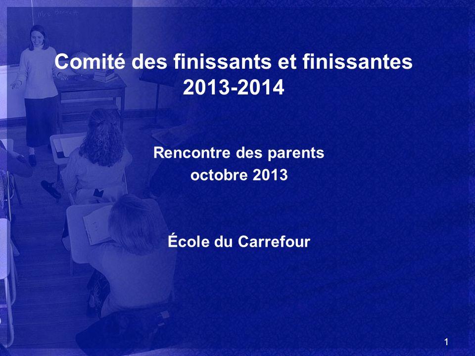 Comité des finissants et finissantes 2013-2014