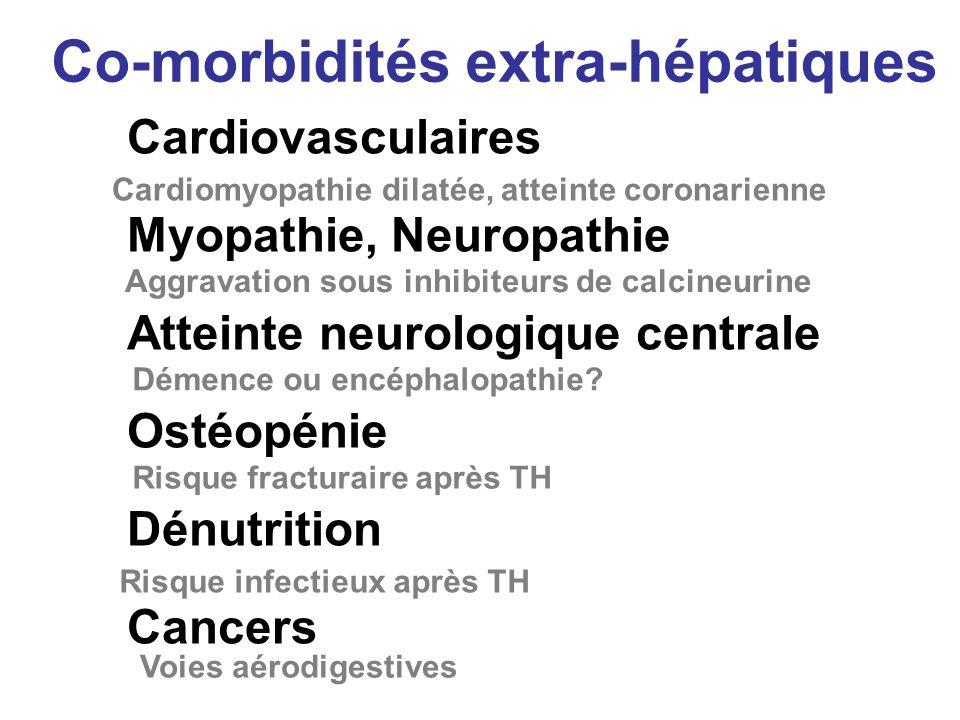 Co-morbidités extra-hépatiques