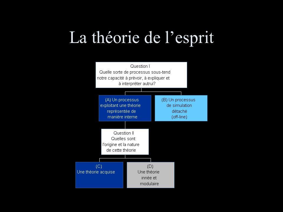La théorie de l'esprit