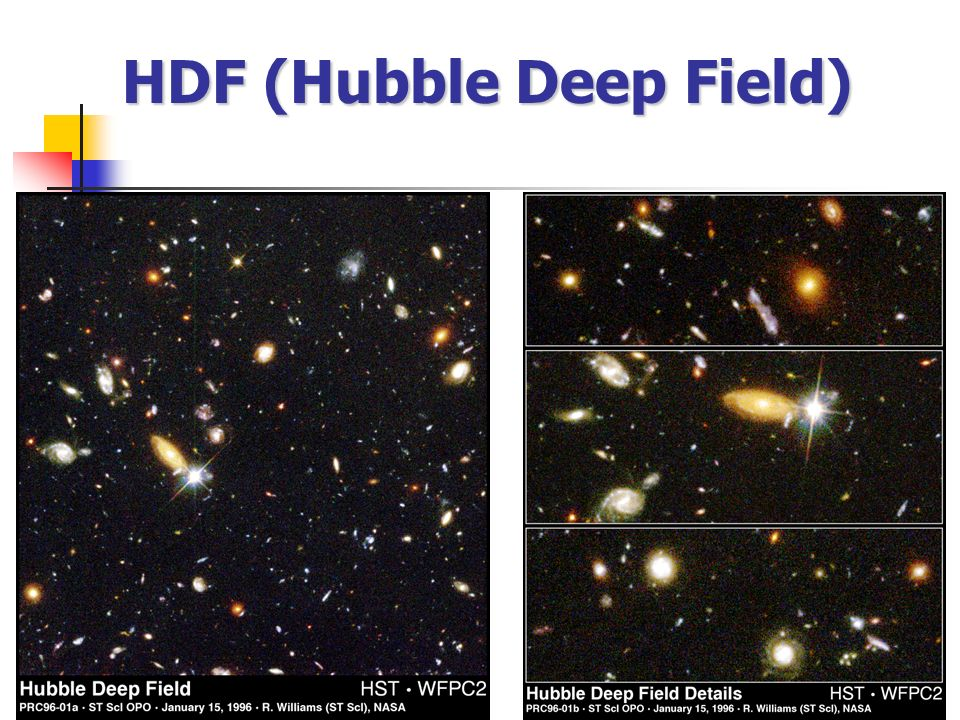 HDF (Hubble Deep Field)
