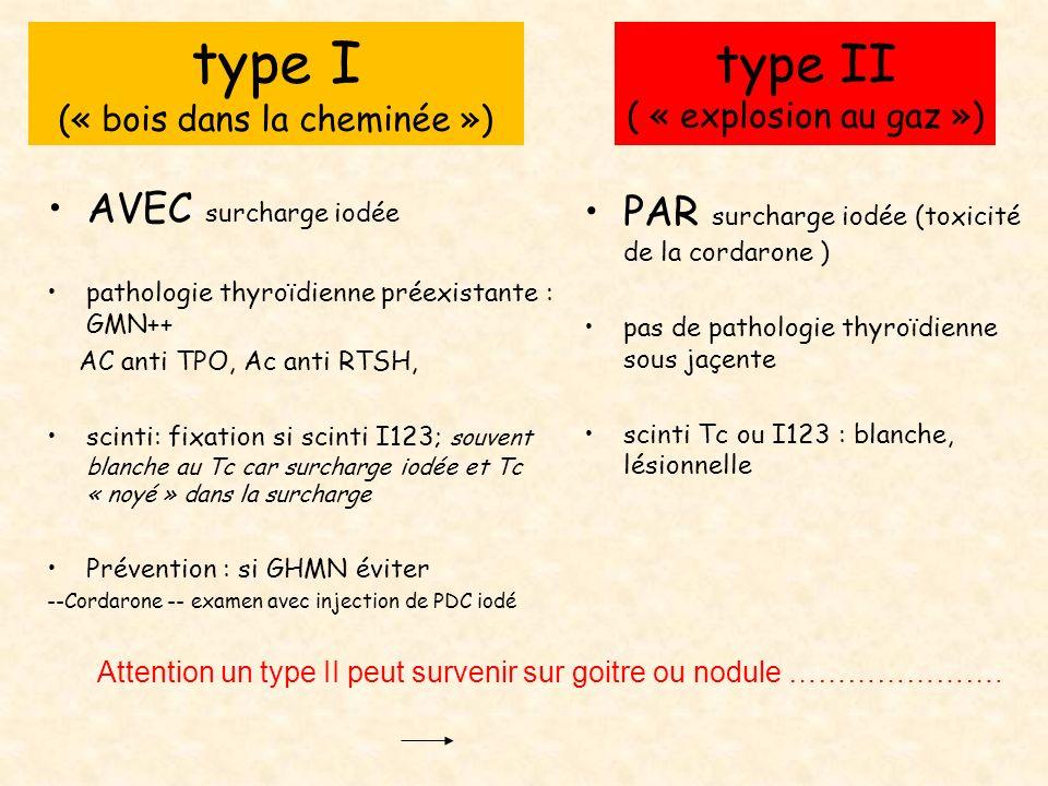 type II ( « explosion au gaz »)