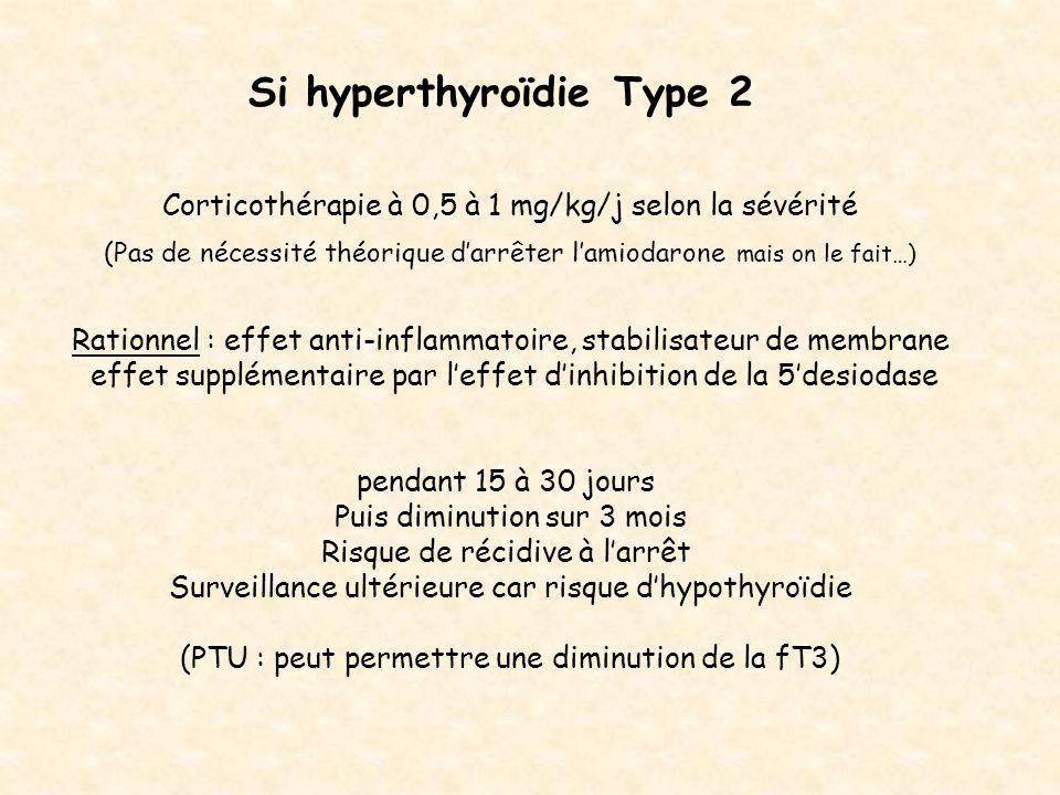 Si hyperthyroïdie Type 2