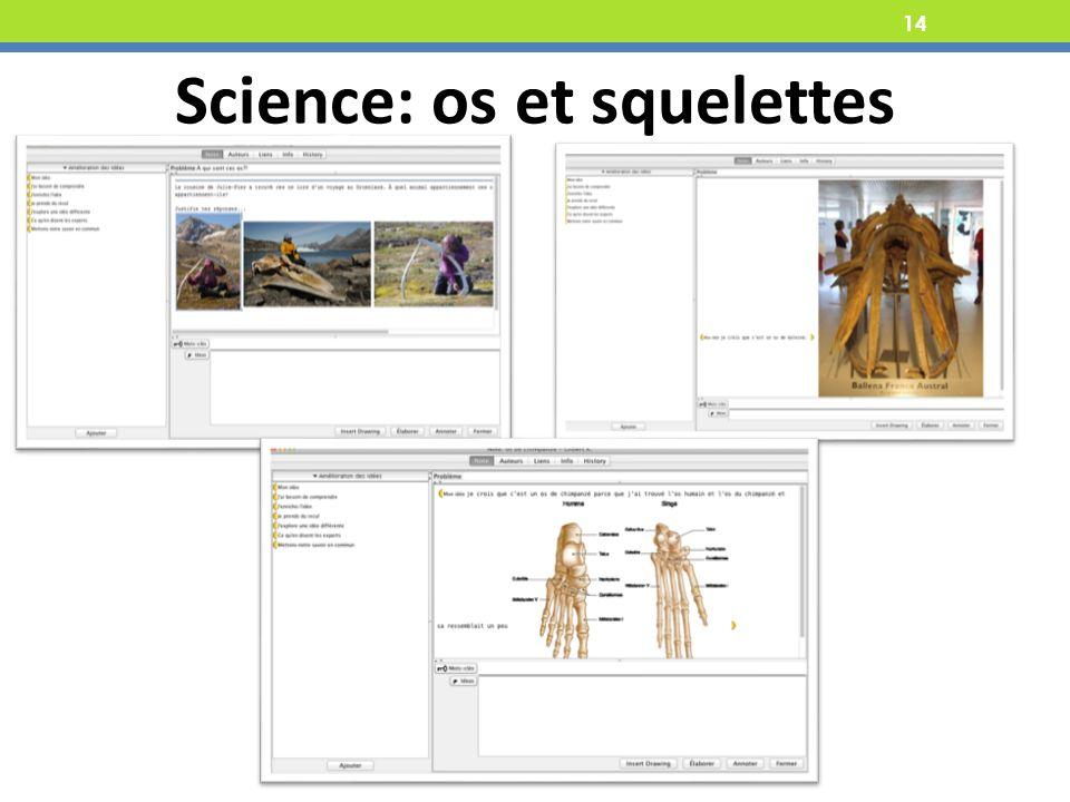 Science: os et squelettes