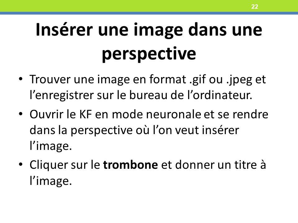 Insérer une image dans une perspective
