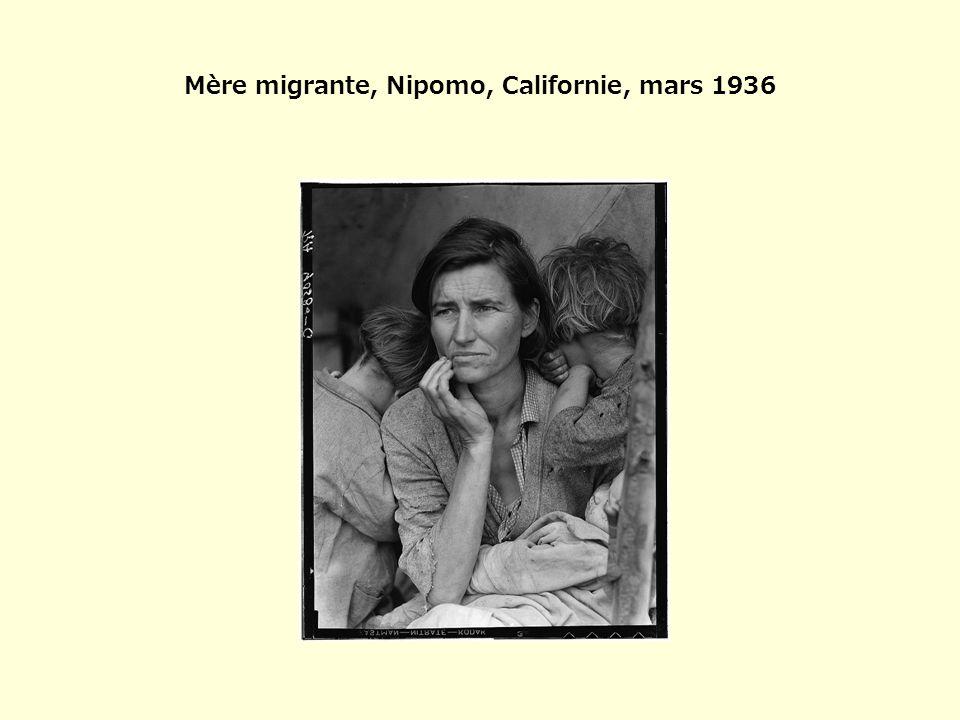 Mère migrante, Nipomo, Californie, mars 1936