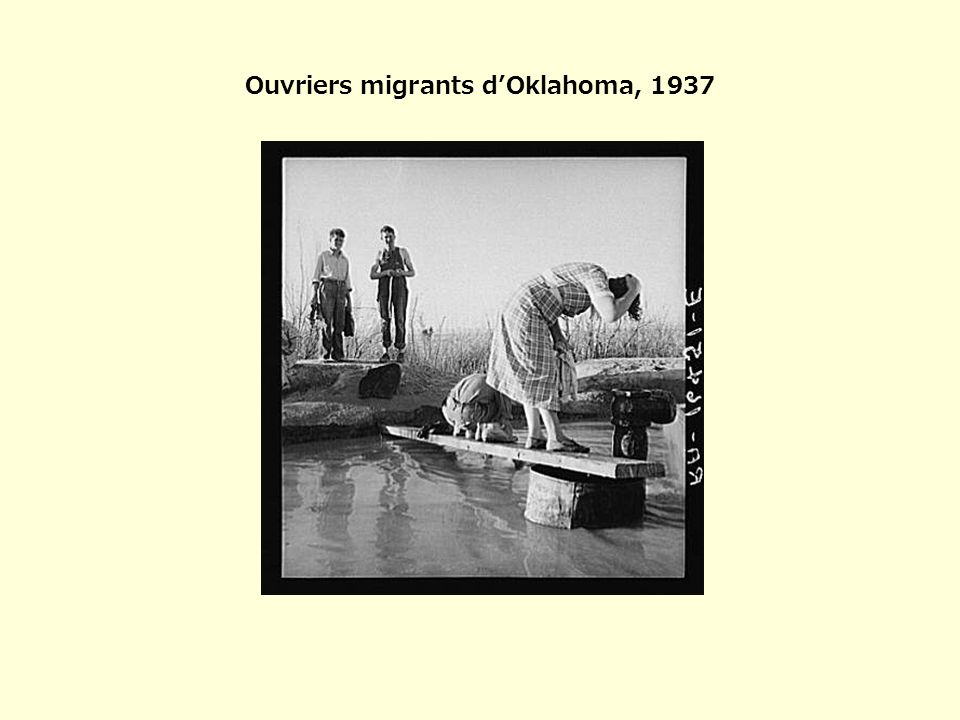 Ouvriers migrants d'Oklahoma, 1937