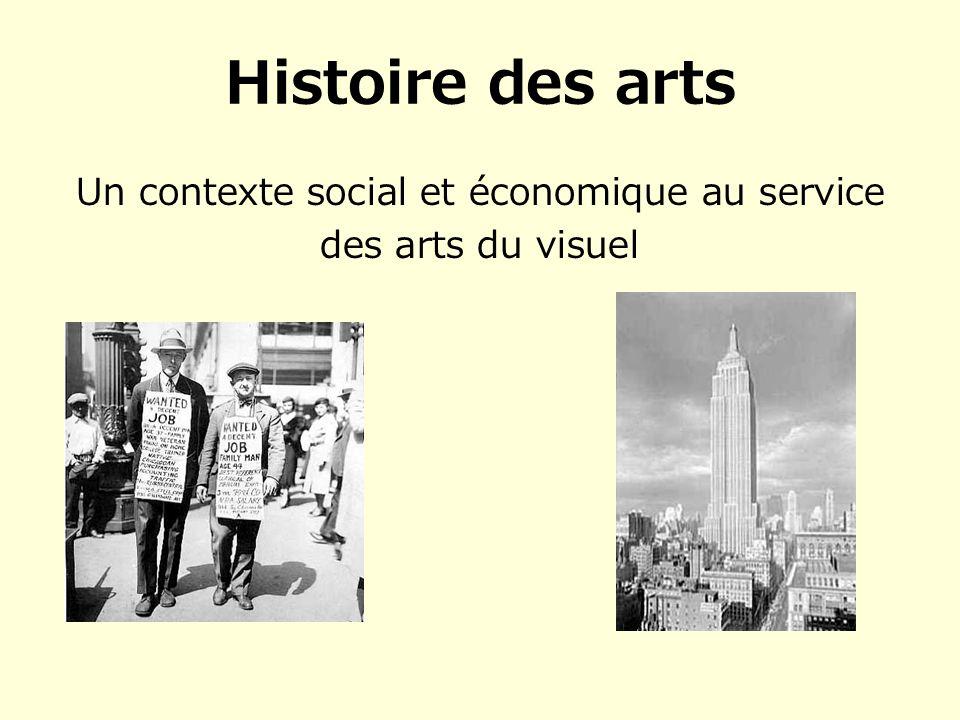 Un contexte social et économique au service
