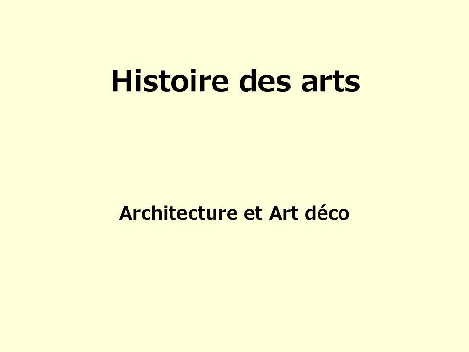 Architecture et Art déco