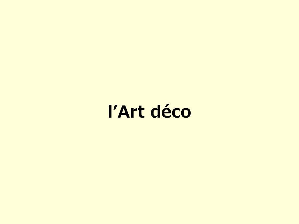 l'Art déco