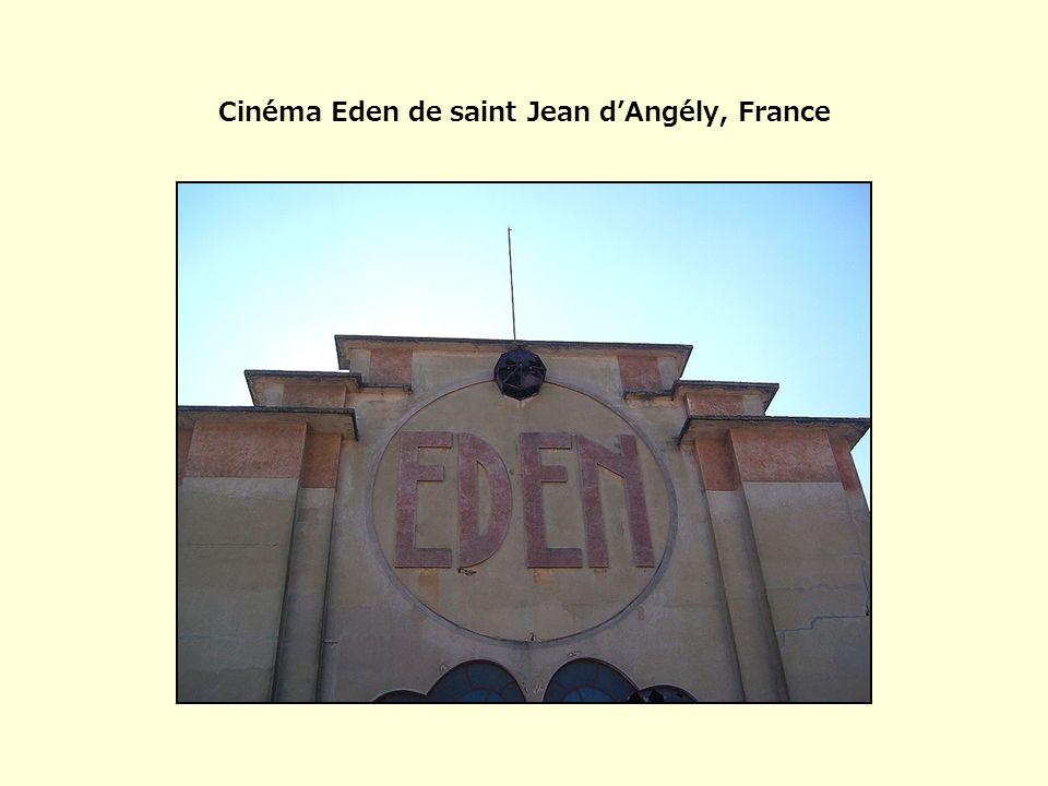 Cinéma Eden de saint Jean d'Angély, France