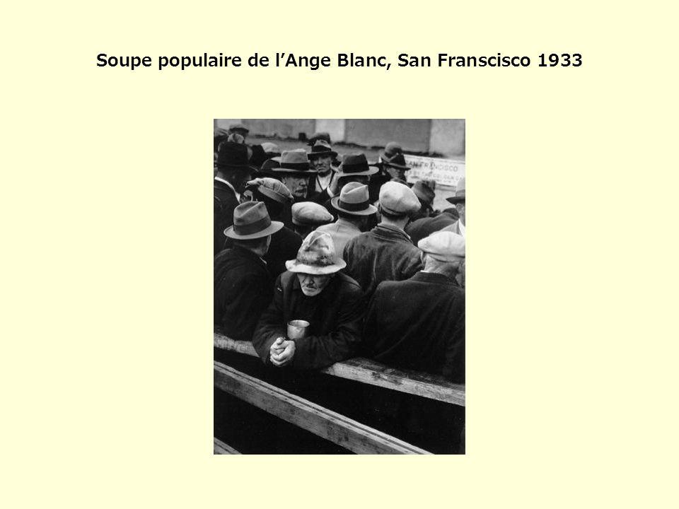 Soupe populaire de l'Ange Blanc, San Franscisco 1933