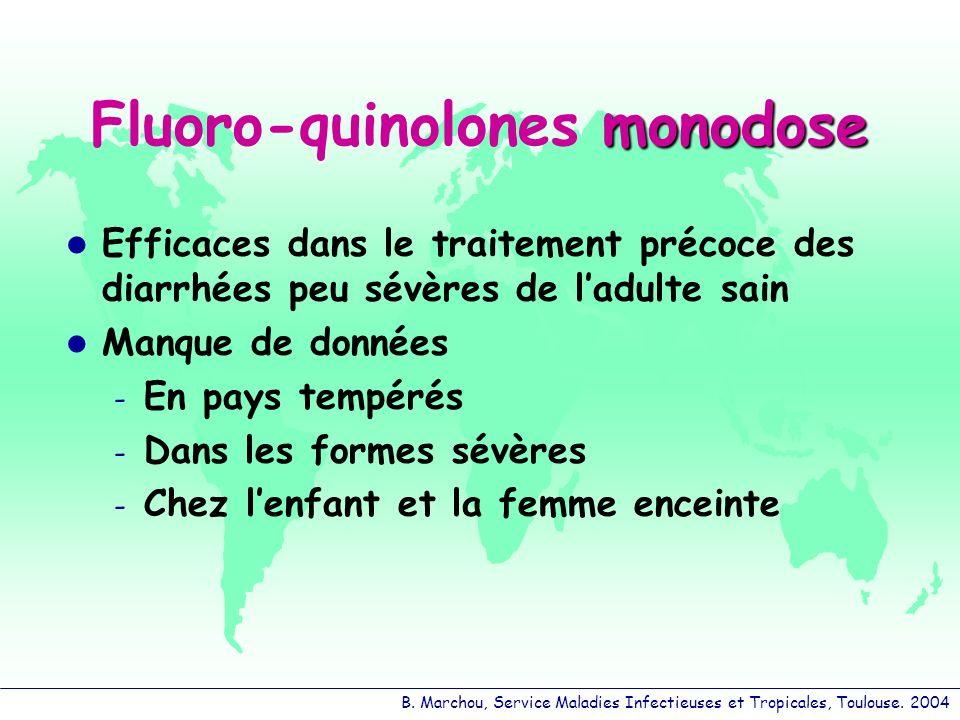 Fluoro-quinolones monodose