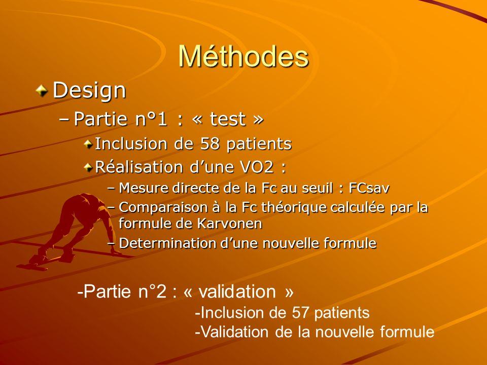 Méthodes Design Partie n°1 : « test » -Partie n°2 : « validation »