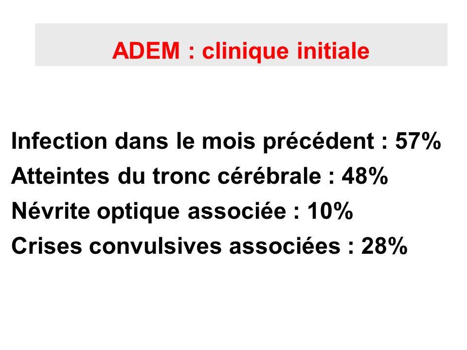 ADEM : clinique initiale