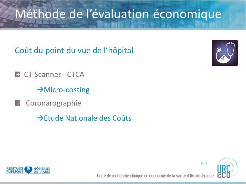 Méthode de l'évaluation économique