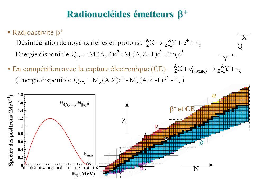 Radionucléides émetteurs b+