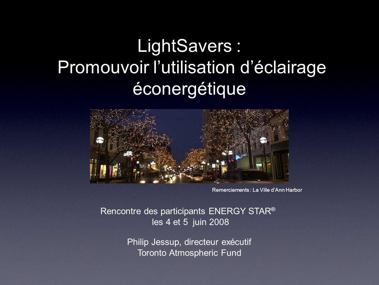 LightSavers : Promouvoir l'utilisation d'éclairage éconergétique