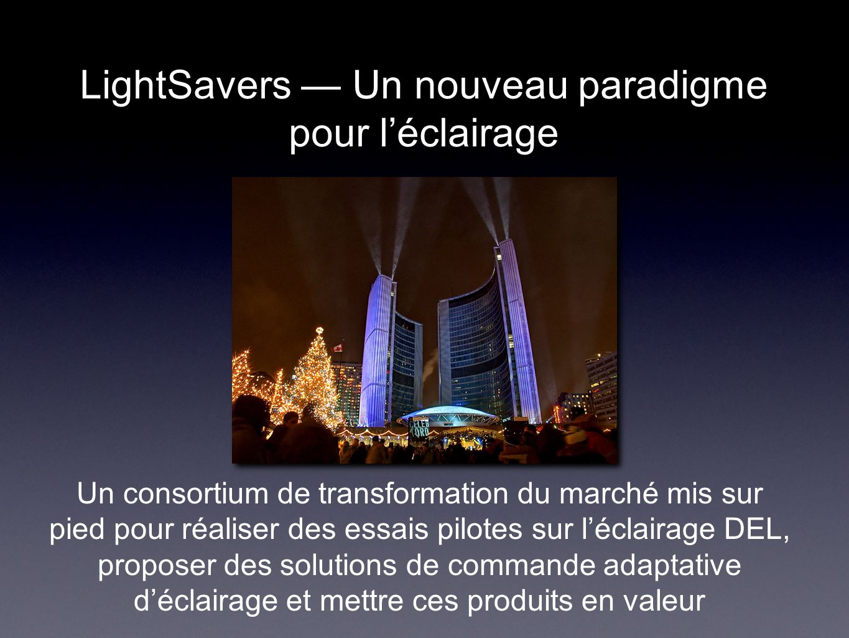 LightSavers — Un nouveau paradigme pour l'éclairage