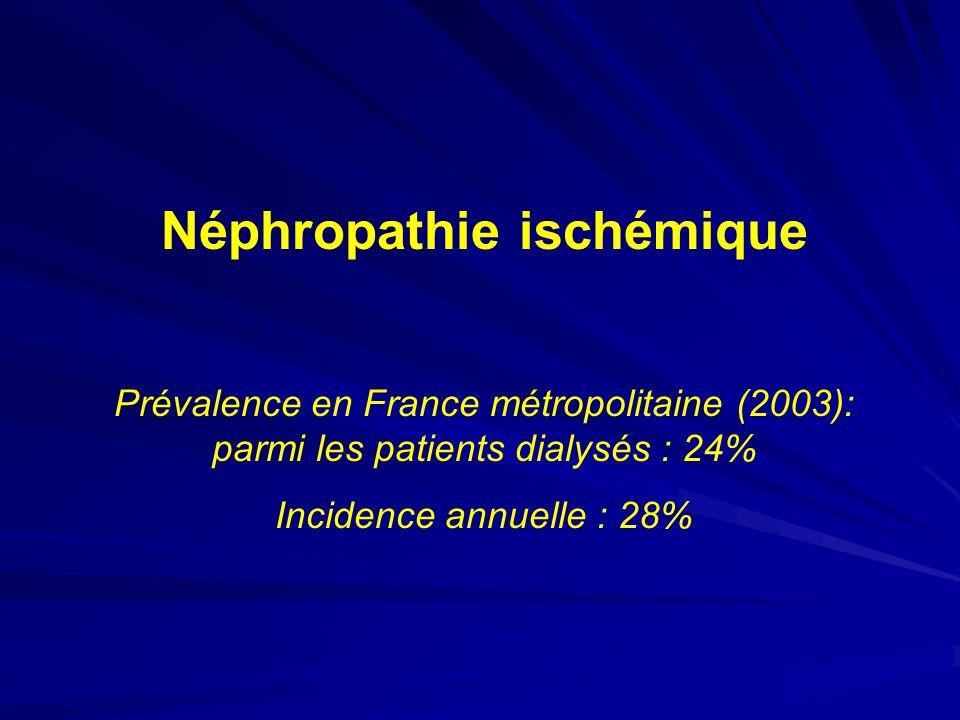 Néphropathie ischémique