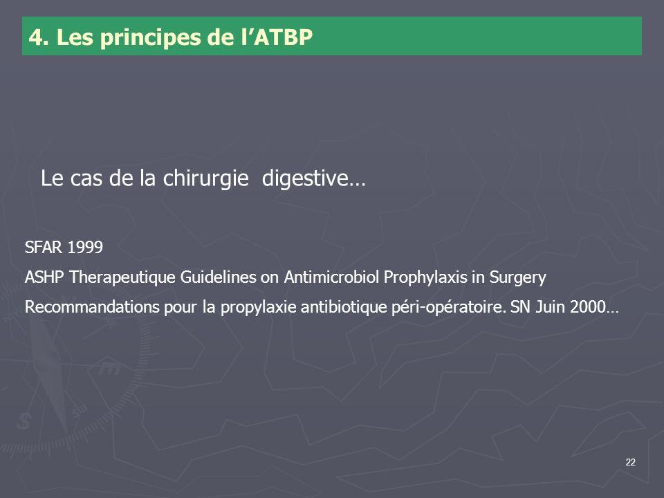 4. Les principes de l'ATBP