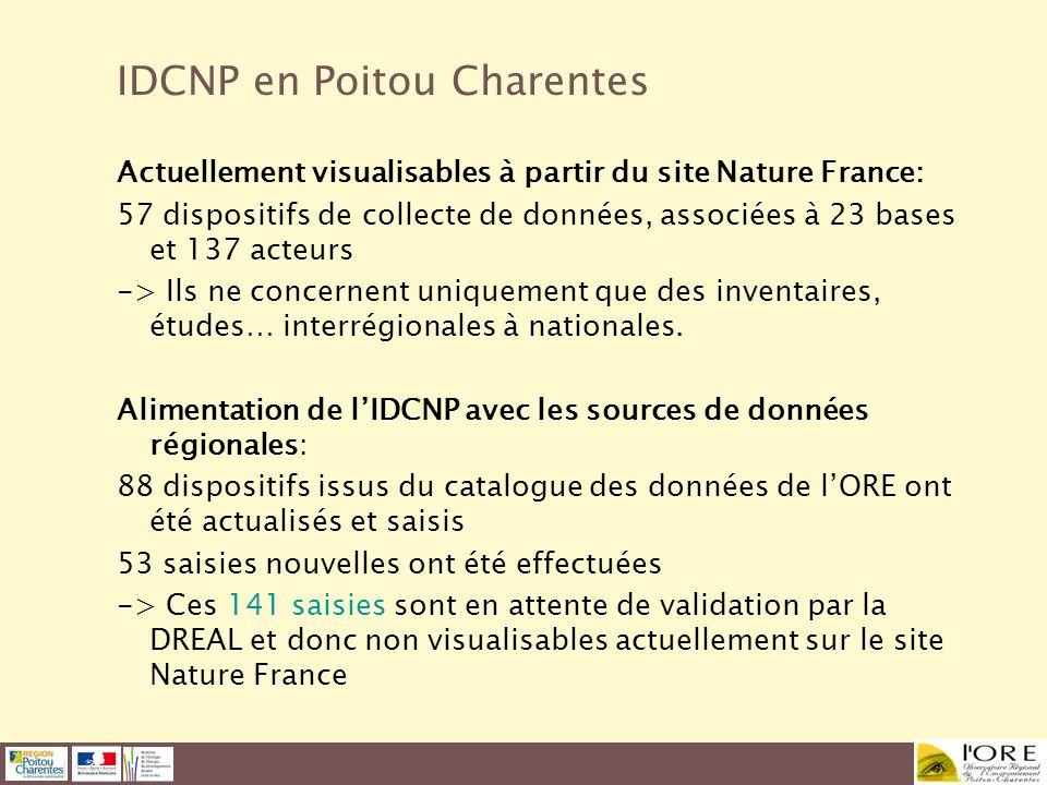 IDCNP en Poitou Charentes