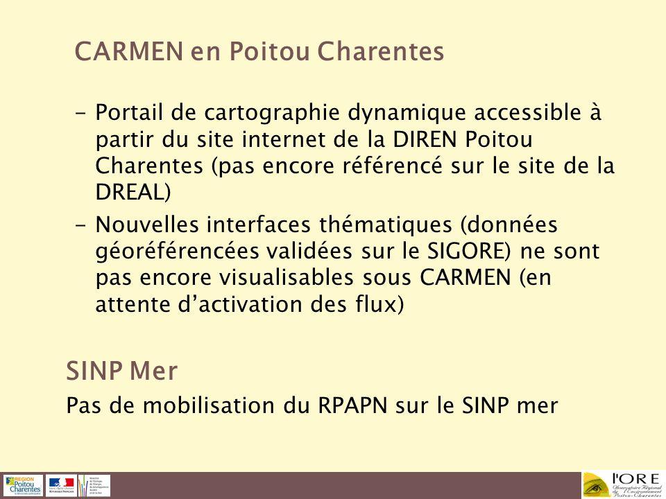 CARMEN en Poitou Charentes