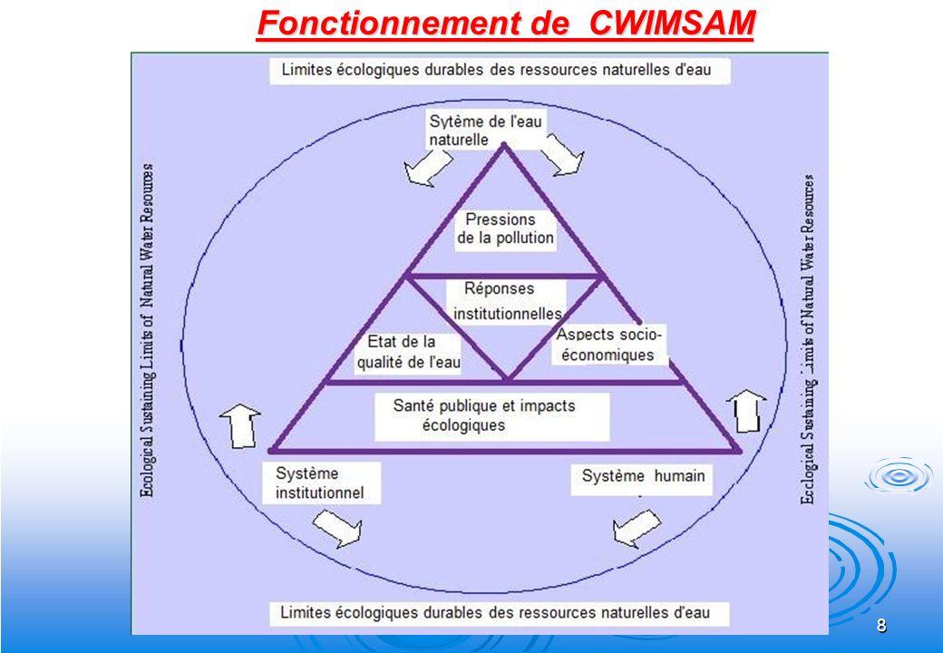 Fonctionnement de CWIMSAM