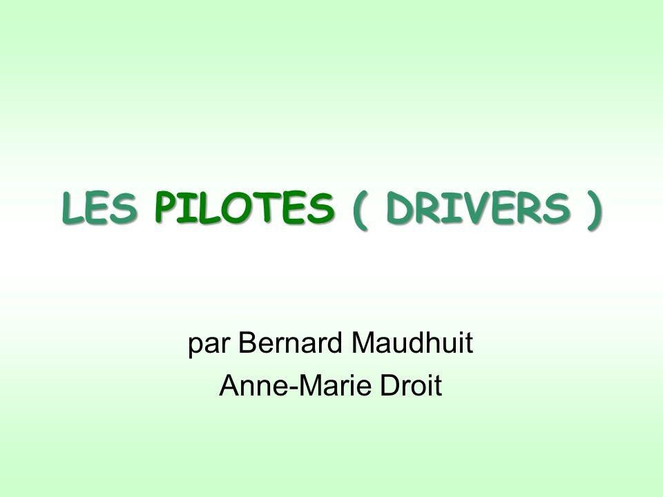 par Bernard Maudhuit Anne-Marie Droit