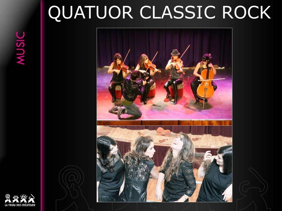 QUATUOR CLASSIC ROCK