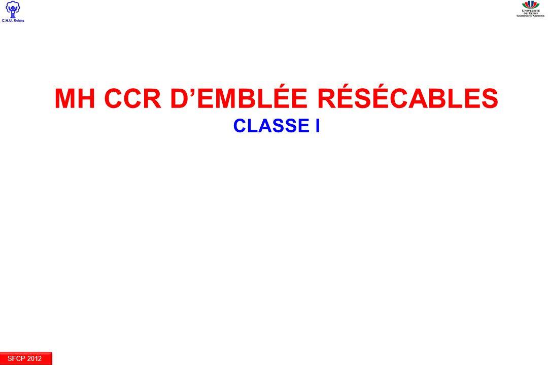 MH CCR d'emblée résécables Classe I